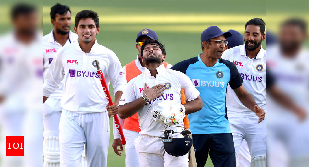'When the chips are down, you push harder': Team India celebrates historic series win