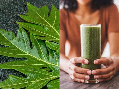 Papaya leaf juice: Health benefits, how to make