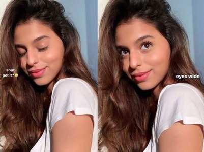 Suhana treats fans with her mesmerising pics