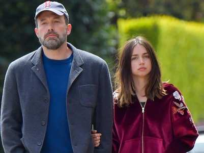 Ana's cut-out spotted in Affleck's trash