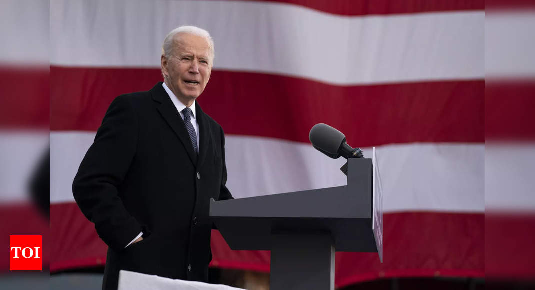 How Biden plans to fight climate change – Times of India