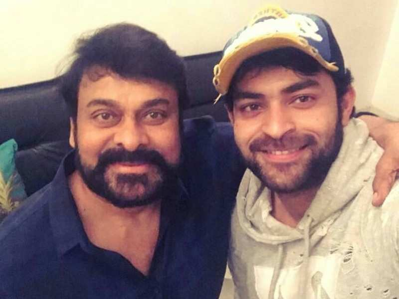 Chiranjeevi shares an adorable throwback pic of Varun Tej and calls his first-look from Ghani 'fabulous'