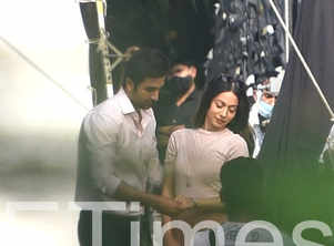 Exclusive pics: Ranbir shoots for an ad