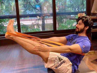 Varun Dhawan aces animal flow workout