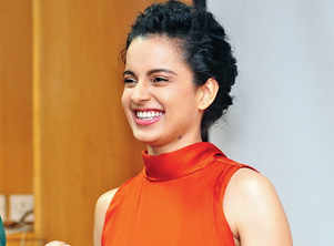 Kangana's Twitter ACC. temporarily restricted