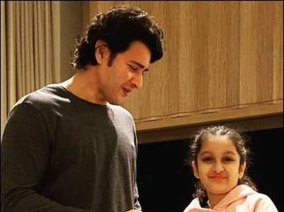 Cute PHOTOS of Mahesh Babu's lil' girl Sitara