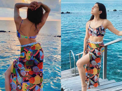 Sara Ali Khan's expensive beach look