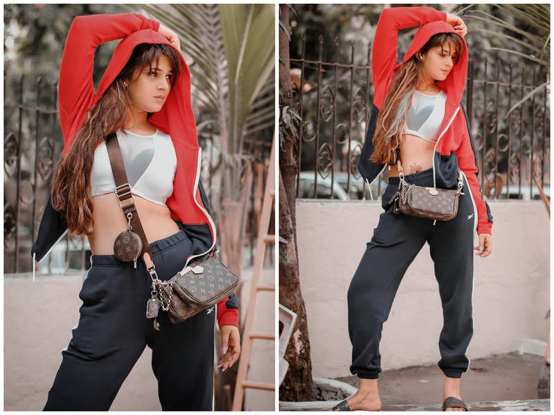 Bhojpuri actress Sapna Gill gives a unique spin to her casual look; see pics