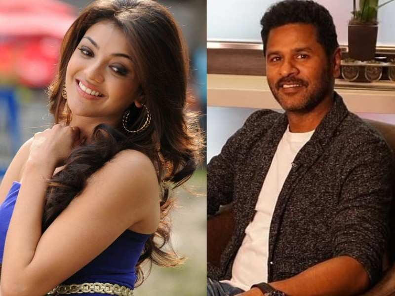 Prabhu Deva and Kajal Aggarwal to team up for the first time in 'Gulebagavali' director's next