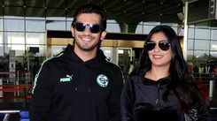 Arjun Bijlani and wife Neha Swami take off to Gulmarg for son Ayaan's birthday