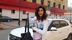 Khatron Ke Khiladi 10 winner Karishma Tanna spotted post her workout sess outside the gym