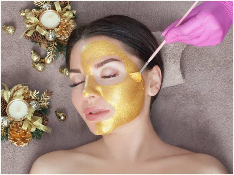 Gold facials are said to offer multiple skin benefits, including adding a glow to the face