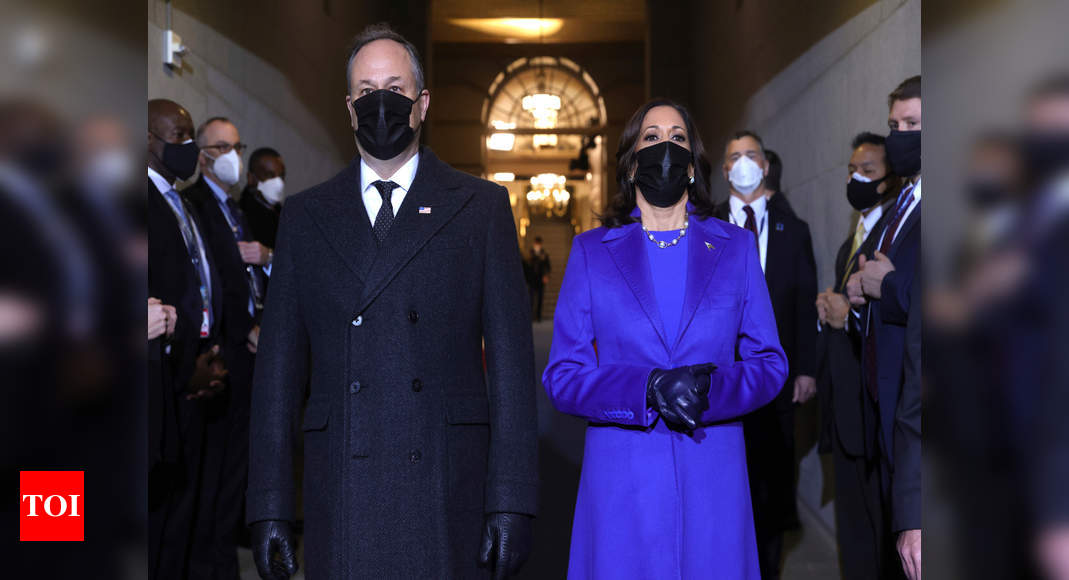 Kamala Harris' historic inauguration attire designed by two Black designers – Times of India