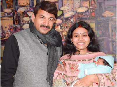 Manoj Tiwari names his baby girl Saanvika