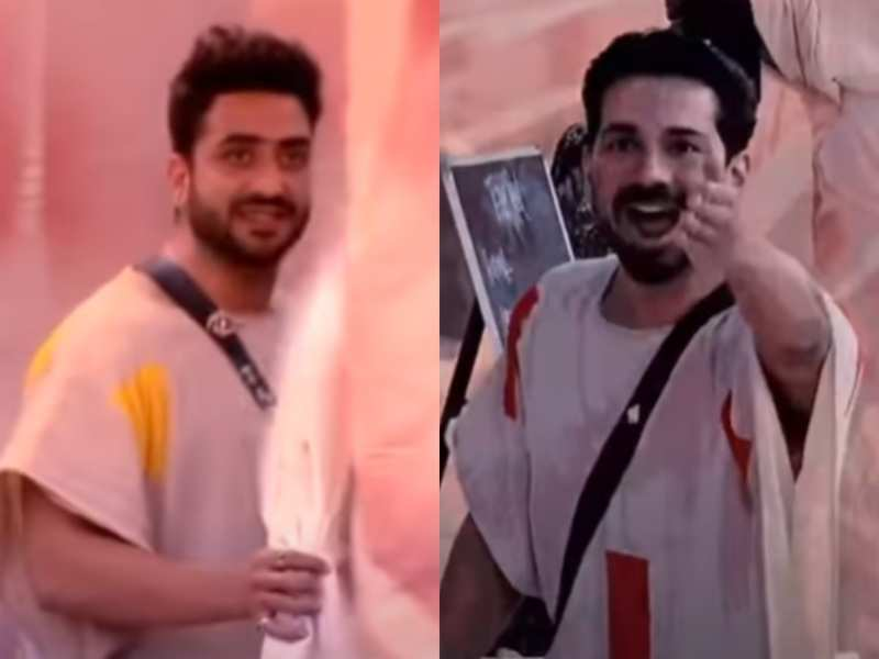 Bigg Boss 14: Aly Goni and Abhinav Shukla get into a tiff; call each other 'bhains' and 'bandar', watch video