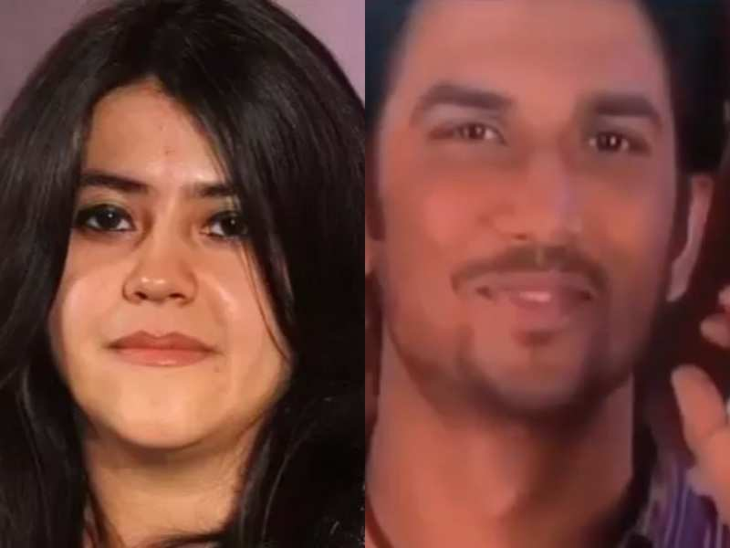Ekta Kapoor remembers Sushant Singh Rajput on his birth anniversary with this video, says, 'Sushi forever'