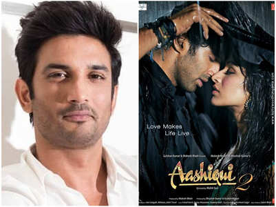 Was SSR the first choice for 'Aashiqui 2'?