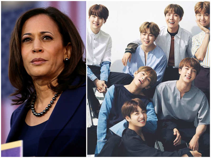BTS ARMY elated to discover that Vice President Kamala Harris is a fan of the Bangtan Boys