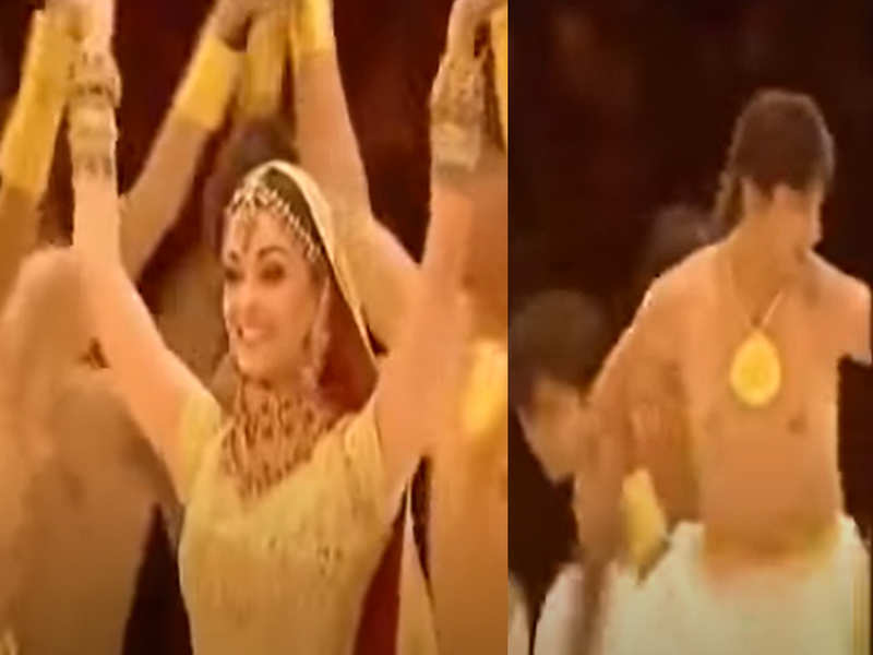 Did you know Sushant Singh Rajput was a background dancer as Aishwarya Rai performed at the Commonwealth Games in 2006?