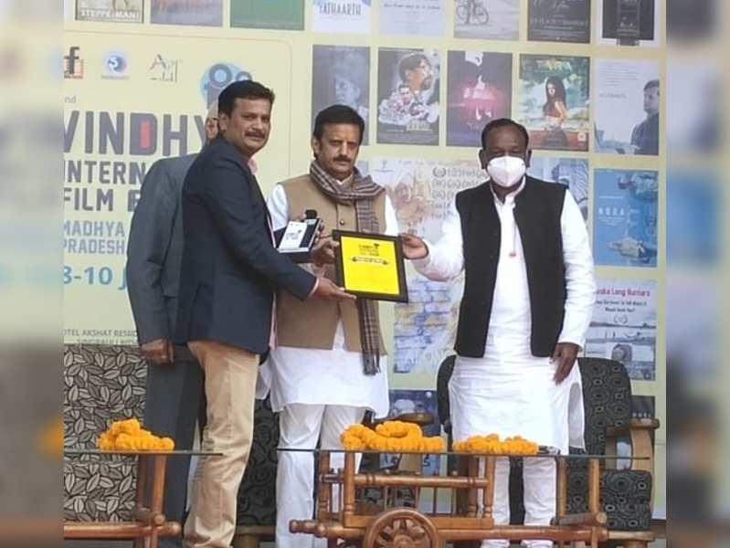 Amudhavanan's Quota wins award at Vindhya International Film Festival