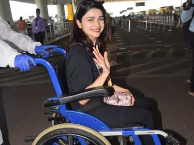 Prachi sustains an injury during action scene