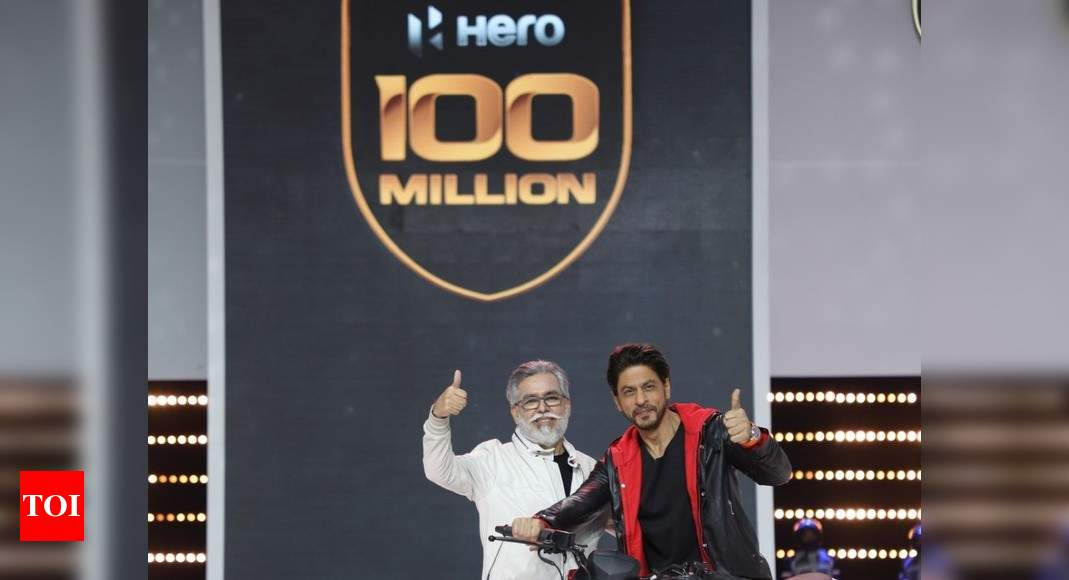 Hero hits 100m production; lines up 50 new products