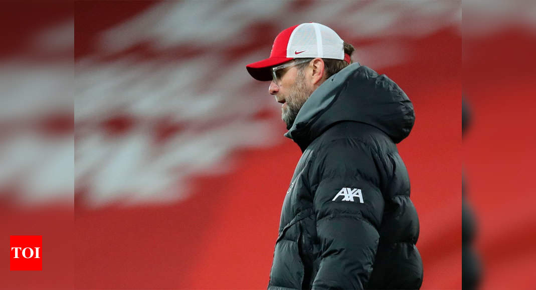 Burnley loss 'massive punch in the face', says Jurgen Klopp