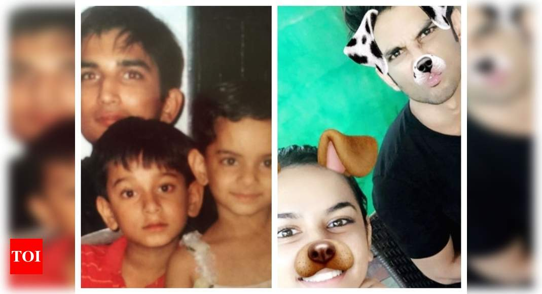 Sushant's niece shares some throwback pics