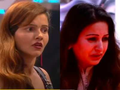 Sonali throws food; Rubina slams her