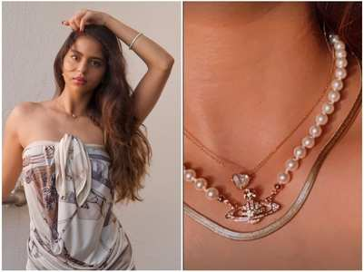 Sneak peek into Suhana's jewellery collection
