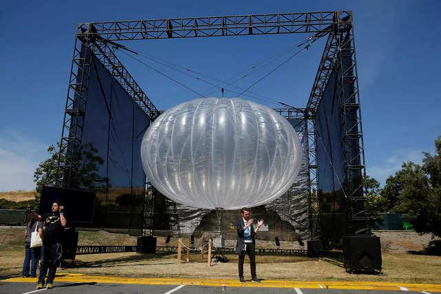 Google parent Alphabet is shutting down its 'balloon internet company'
