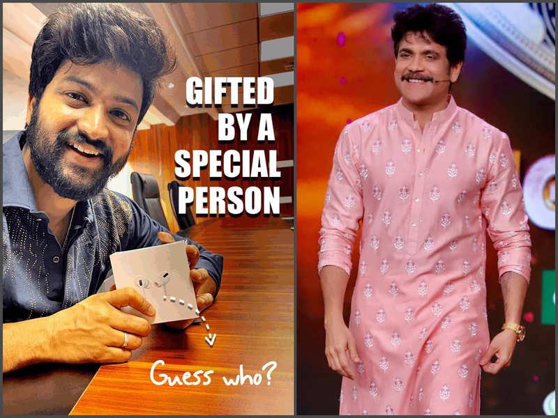 Bigg Boss Telugu 4 finalist Sohel flaunts his special gift from host Nagarjuna Akkineni; see pic