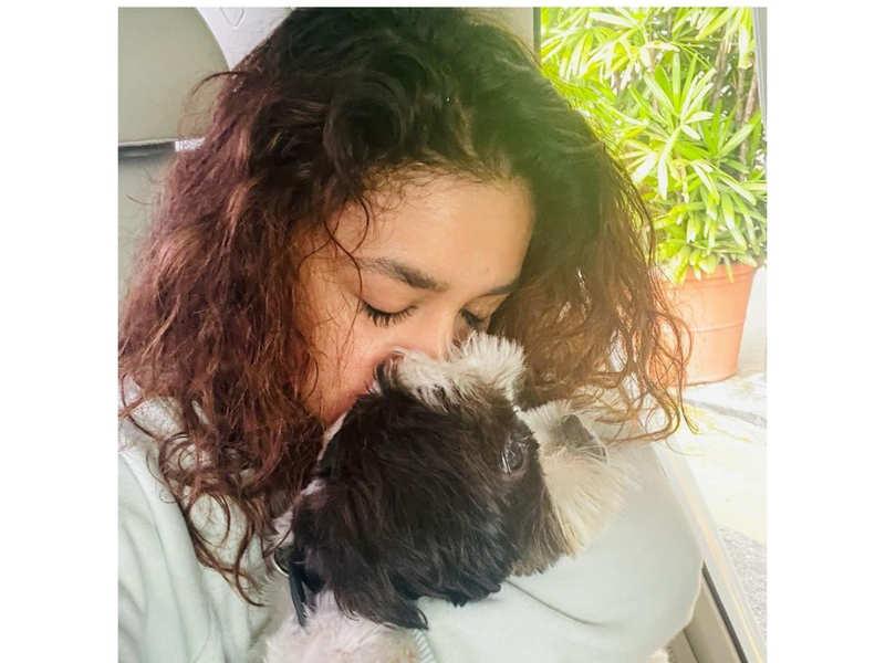 Keerthy Suresh's adorable goodbye note to her pet
