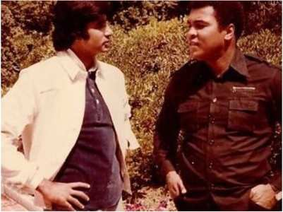 Big B's throwback pic with boxer Muhammad Ali