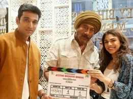 Pratik Gandhi and Jackie Shroff kickstart Hardik Gajjar's next rom-com film 'Atithi Bhooto Bhava'