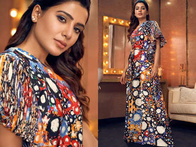 Samantha Akkineni's boho mirror print outfit is UNMISSABLE