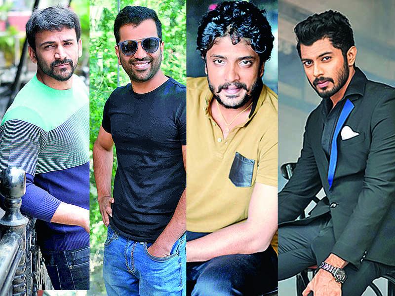 Sandalwood heroes mark their presence in other film industries