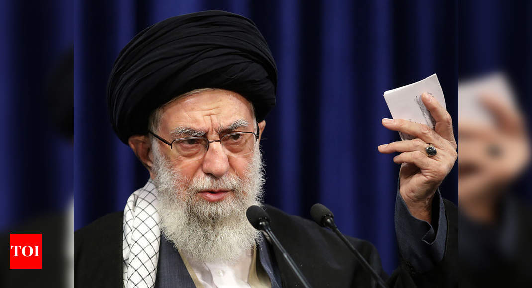 Ayatollah Ali Khamenei: Iran's supreme leader account posts warning to Trump | World News – Times of India