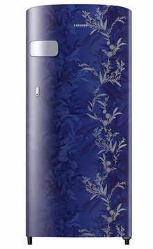 Samsung Single Door 192 Litres 2 Star Refrigerator Mystic Overlay BLUE RR19A2Y2B6U