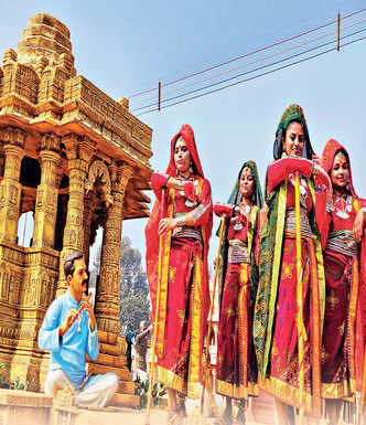 Sun Temple tableau for R-Day parade