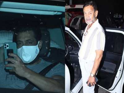 Photos: Salman gets snapped post his shoot