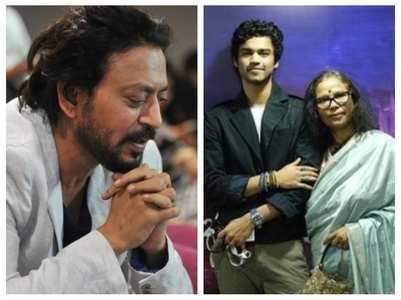 Irrfan's wife's emotional speech at IFFI