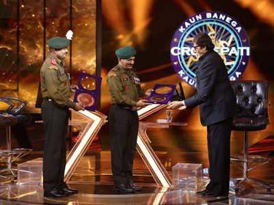 KBC12: Big B salutes Kargil War heroes