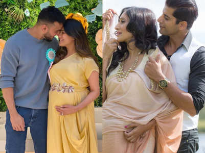 TV couples' maternity photoshoot pics