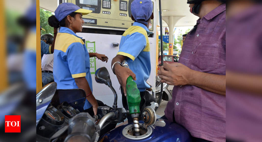 Petrol, diesel prices touch all-time highs – Times of India