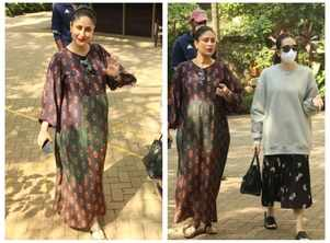 Kareena steps out with sister Karisma Kapoor