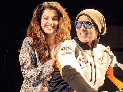 Akshay to Taapsee: Proud of your journey