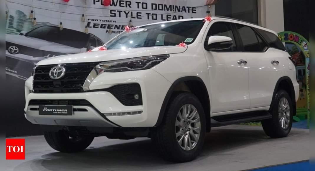 2021 Toyota Fortuner facelift: First impression – Times of India