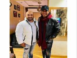 Singer Ashok Mastie and B Praak teaming up for a project?