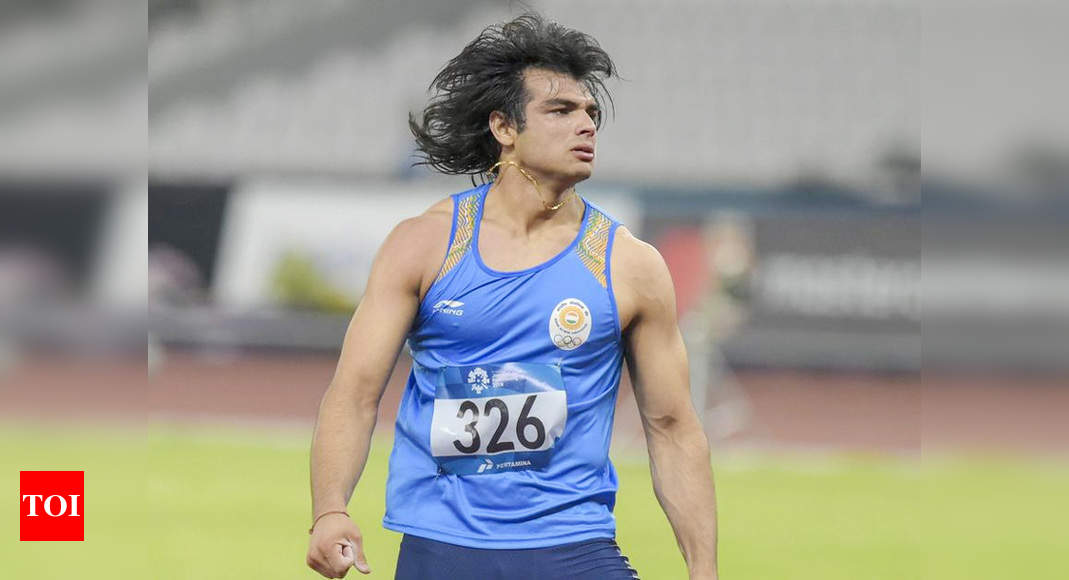 Looking to breach 90m-mark this year, Neeraj Chopra says he's working on technique and strength part, not on covering javelin distance | More sports News – Times of India